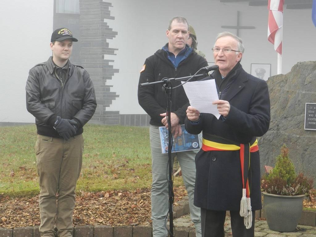 Speech by Mayor Christian Krings