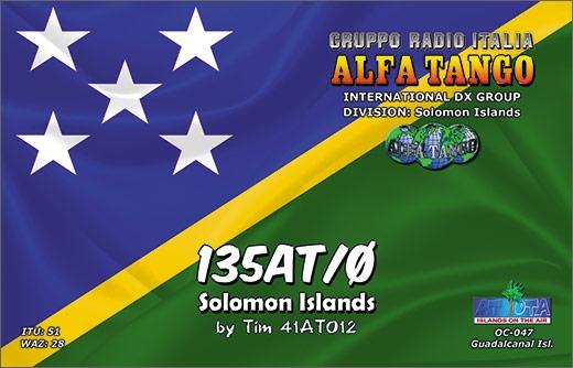 135 AT/0 - Solomon Isls.