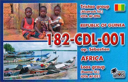 182CDL001 Sebastien Rep. of Guinea (Rooma Isl. AF-051)