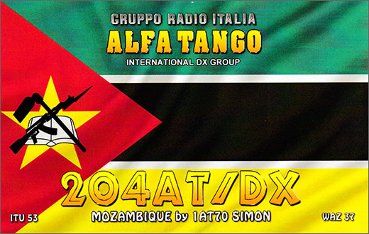 204 AT/DX - Mozambique