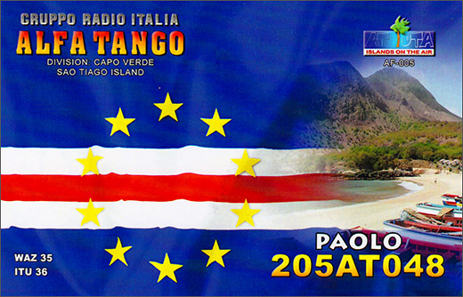 205 AT 048 Paolo - Cape Verde
