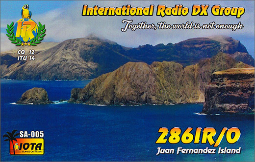286 IR/0 - Juan Fernandez Isl.