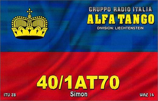 40/1 AT 070 Simon - Liechtenstein