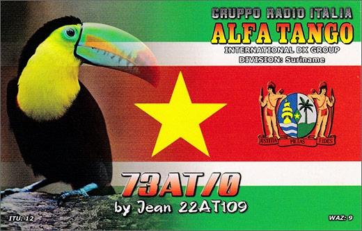 73 AT/0 - Suriname