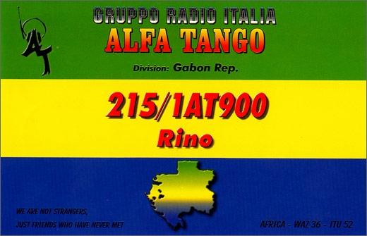 215/1 AT 900 Rino - Gabon Rep.