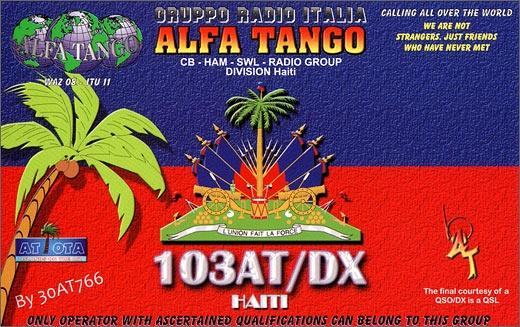 103 AT/DX - Haiti