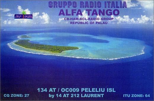 134 AT/OC 009 Peleliu Is. - Rep. of Palau (Belau)