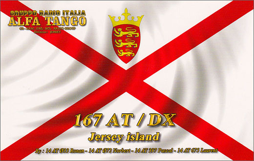 167 AT/DX - Jersey Isl.