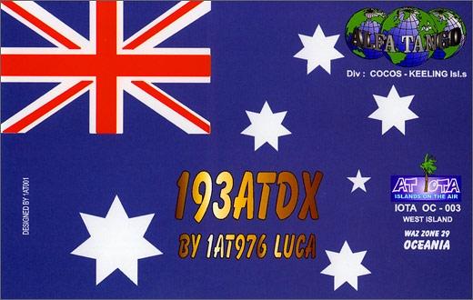 193 AT/DX - Cocos Keeling Isls.