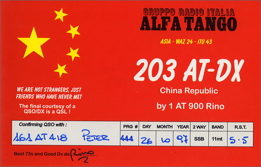 203 AT/DX - China Rep.