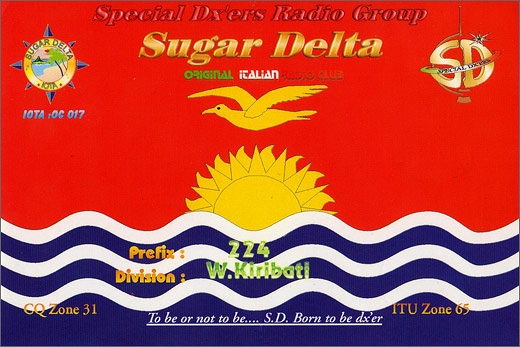 224 SD/OC 017 - Western Kiribati