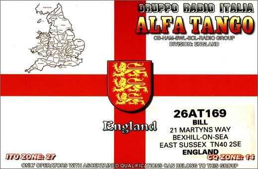 26 AT 169 Bill - England