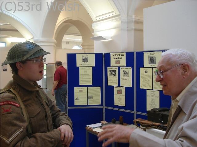 Meeting a Veteran