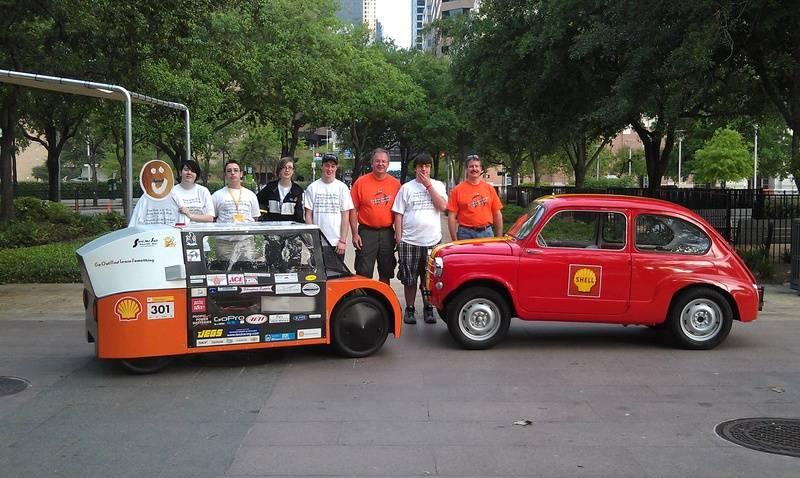 Granite Falls Eco car and Team