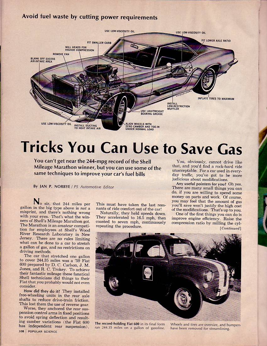 Popular Science Article 1970