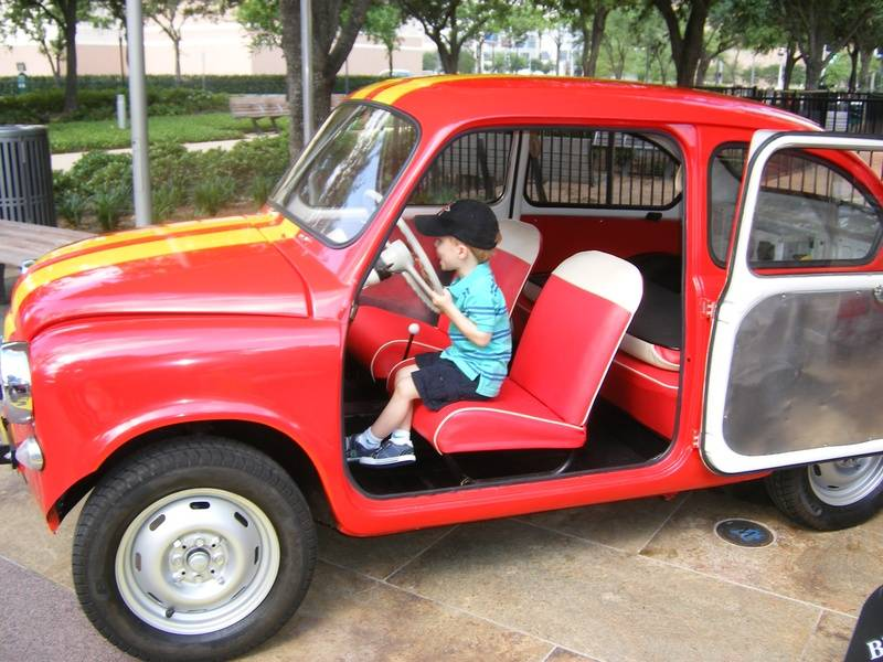 Lisi's son in Fiat