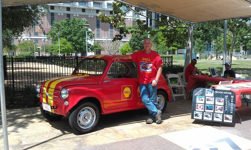 Kenneth Smith and Fiat at the Eco