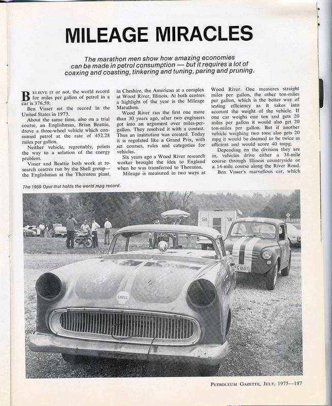 Mileage Miracles