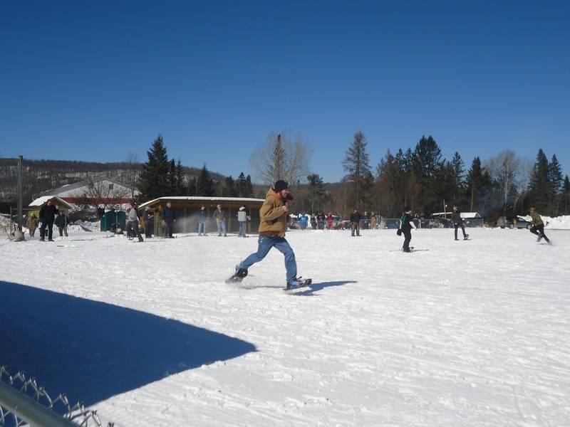 Snowshoe softball