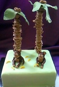 Monkeys and Palm Trees