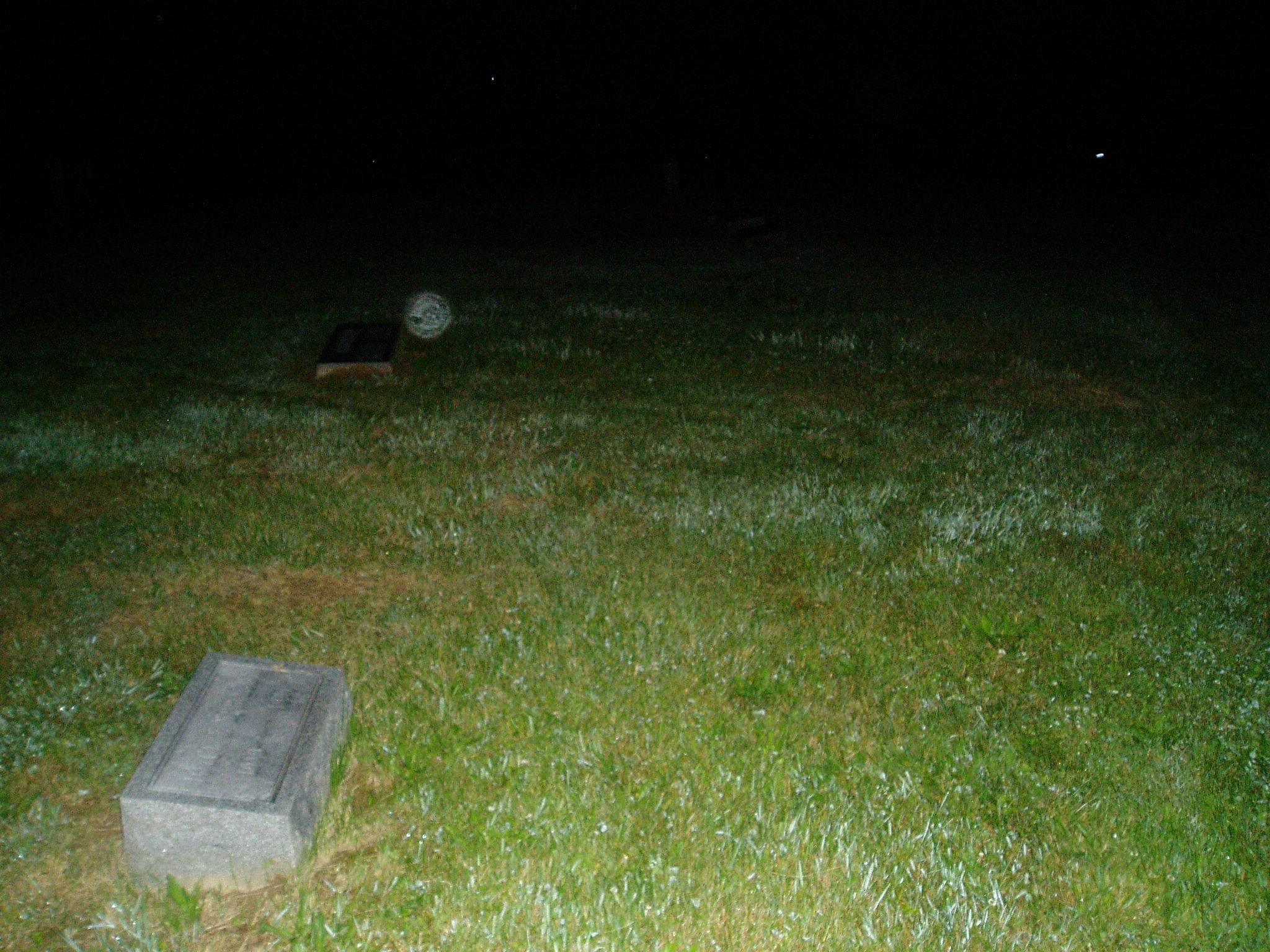 Orb in Williamsburg Cemetery