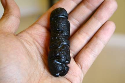 Tektite from Aubrey Whymark, Philippinite
