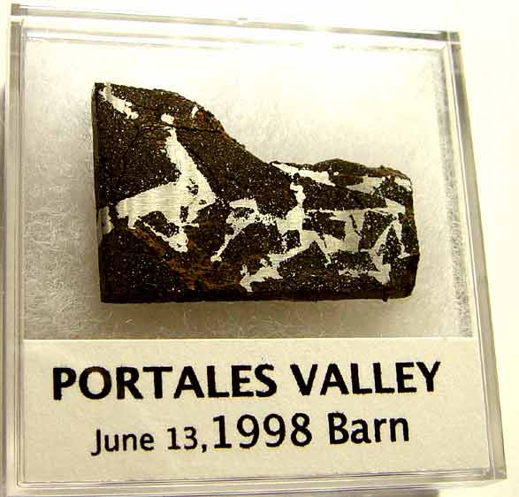 Portales Valley, Stony H5, USA 11.3g; P15,500.00