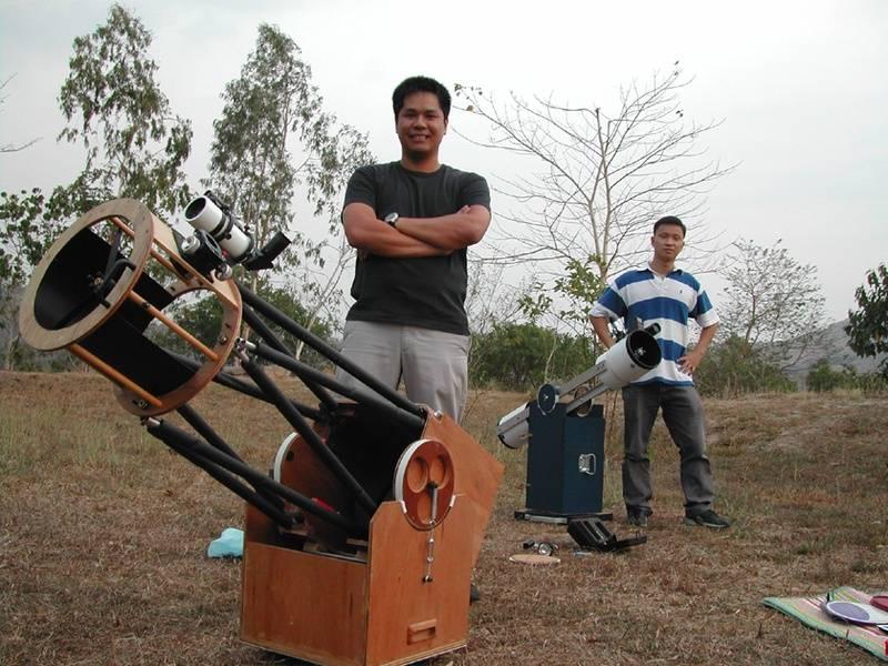Joel Munoz and Me, Buso-buso, Touch of Glory Prayer Mountain, 2004