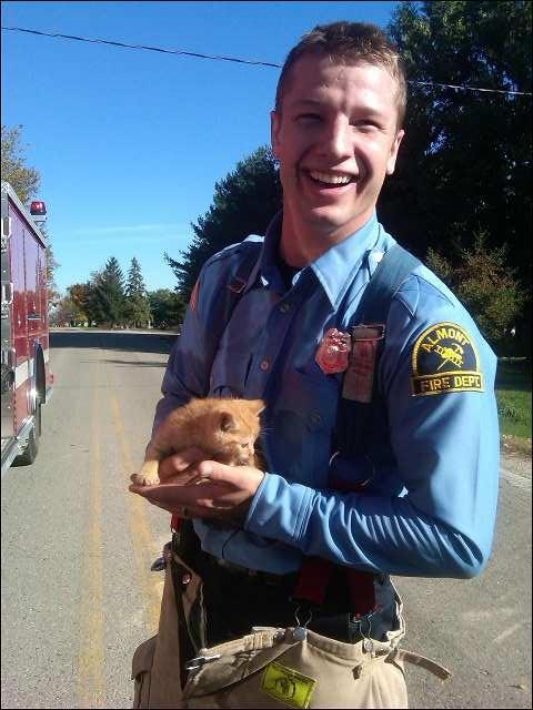 Phil Saves a Kitten