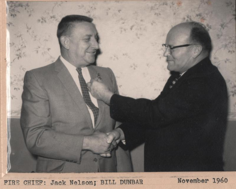 1960 Fire Chief Jack Nelson