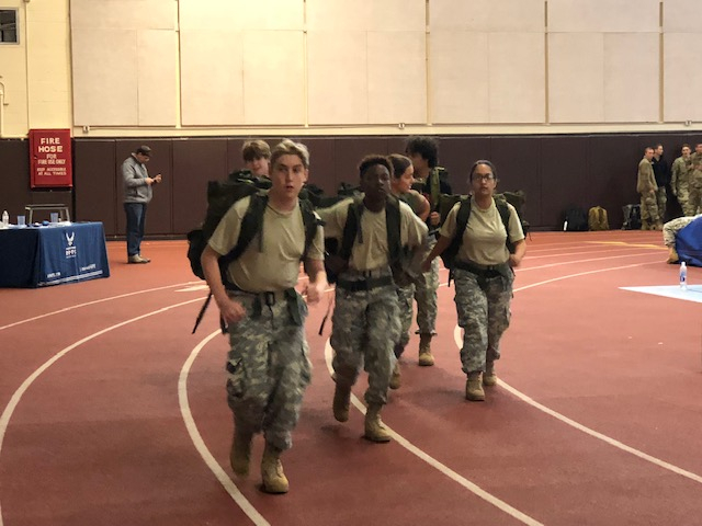 WYOMING RUCK MARCH, B-TEAM