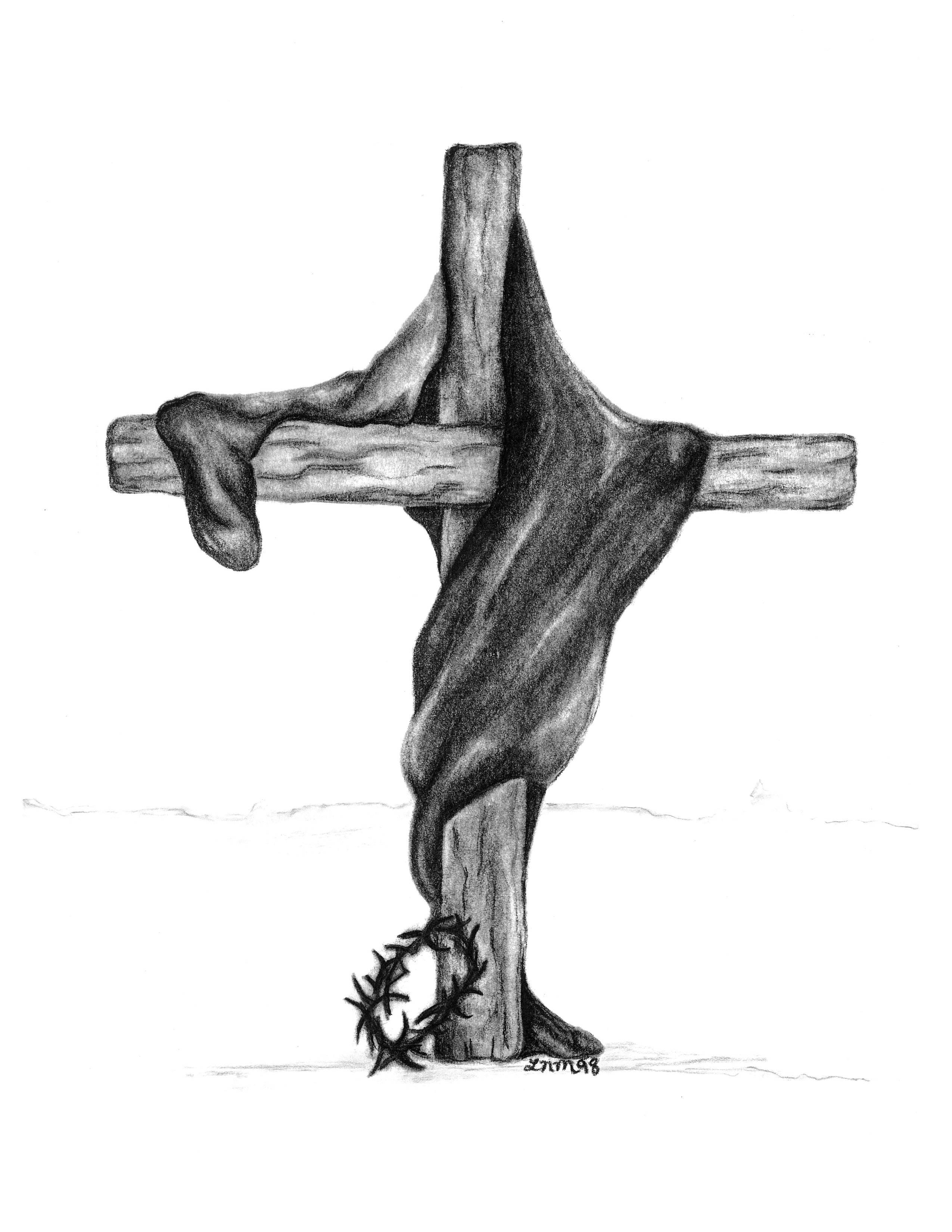 Robe on the Cross 1