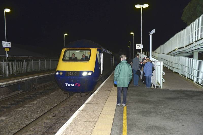Arrival of the London Train