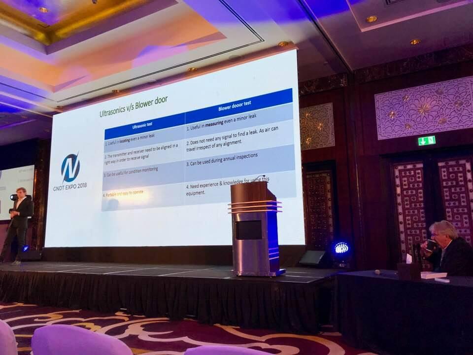 Speaker Session at GNDT EXPO 2018