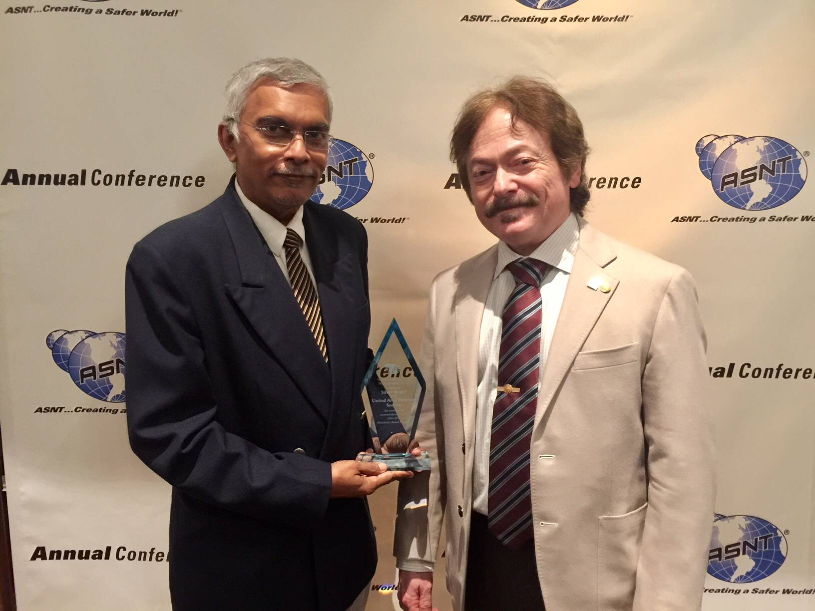 ASNT UAE Section wins its 1st President's Award