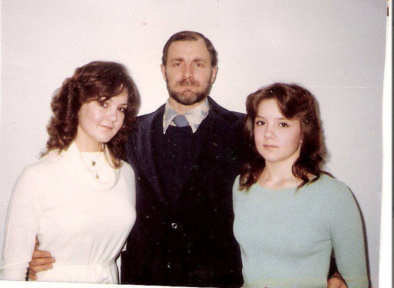 "My husband and ""Teen"" daughters"