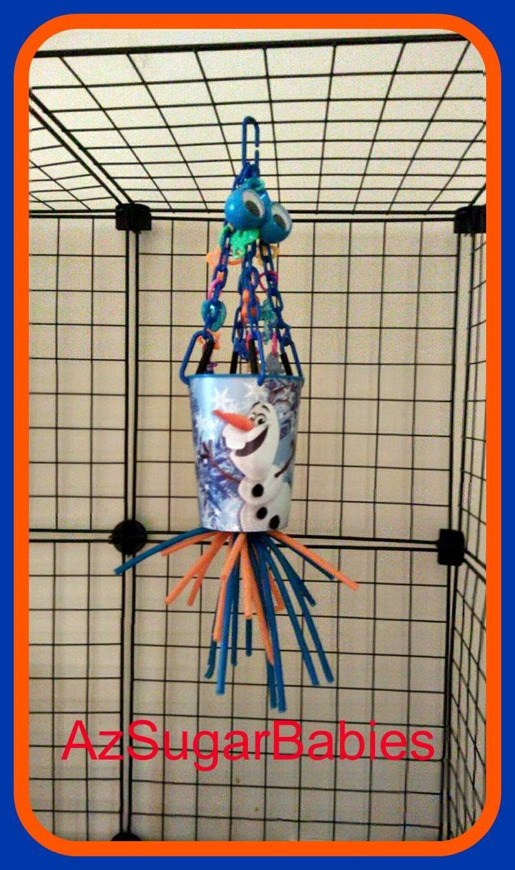 Olaf foraging cup toy