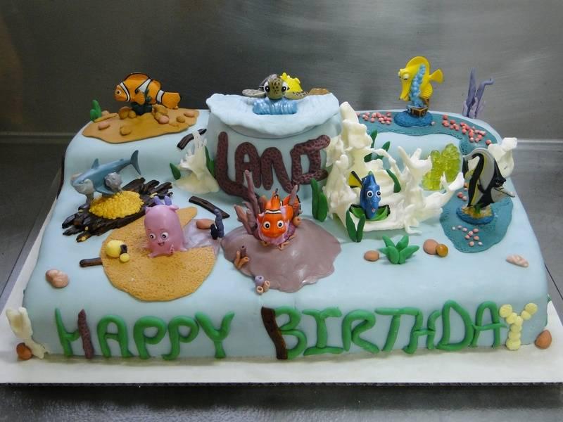 """The """"Nemo"""" cake"""
