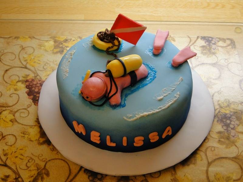 Dive cake