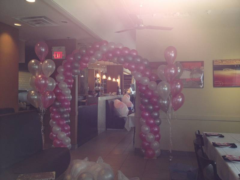 balloons arch decoration