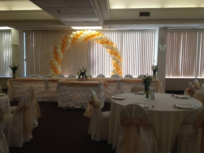 wedding head tables decoration