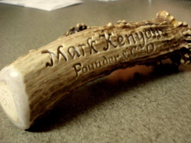 Nameplate Carving