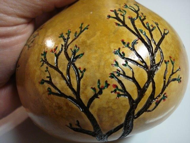 3-bush Gourd decoration