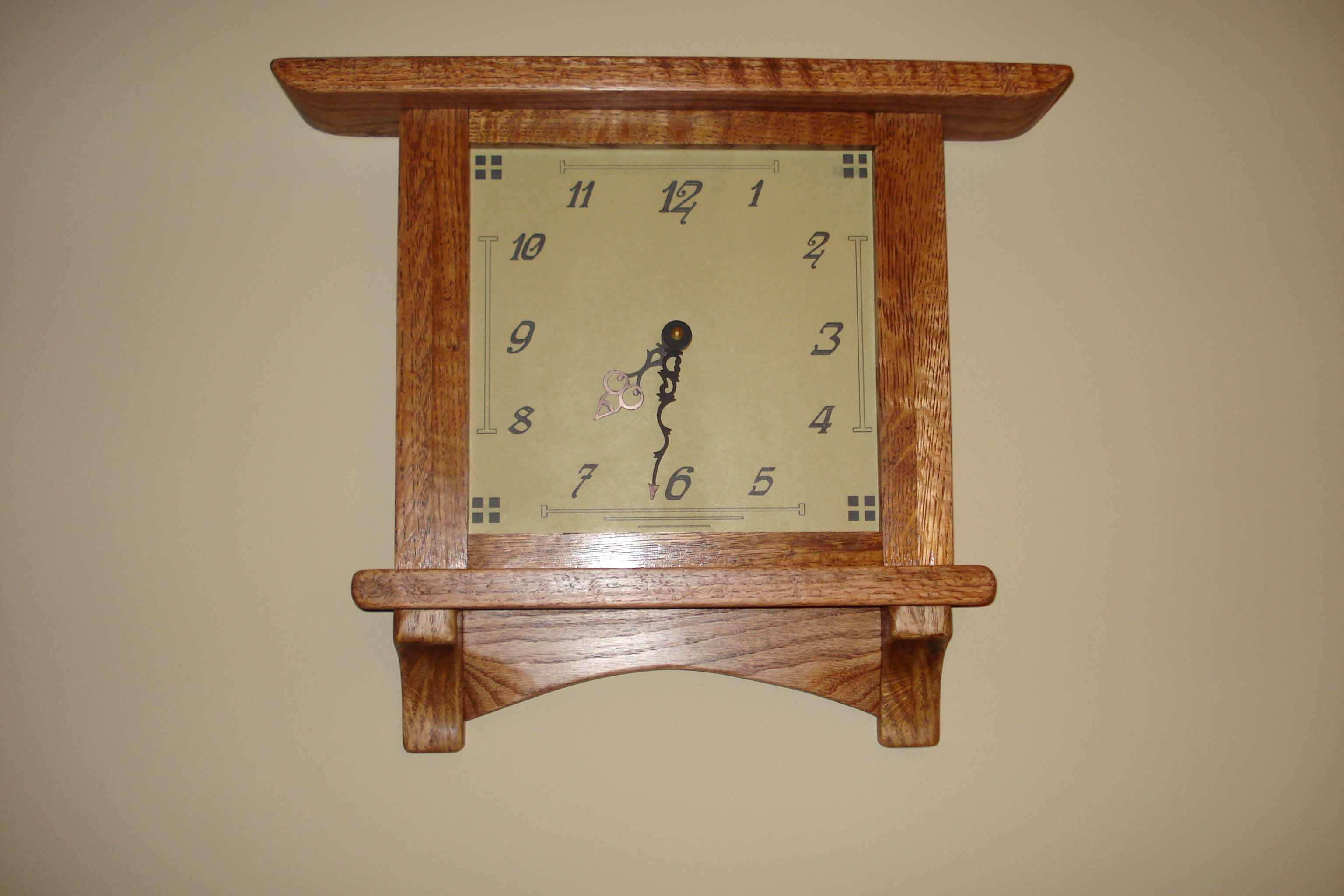 Arts & Crafts Clock