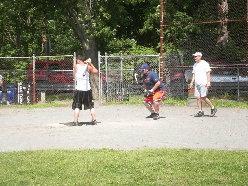 Dustin at bat