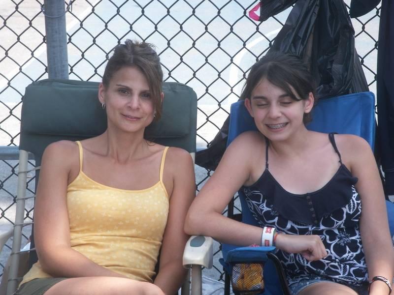 Anna & Marissa volunteering again this year