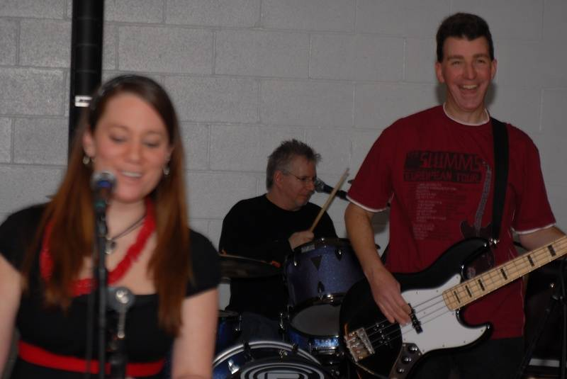 Even the band had a good time!