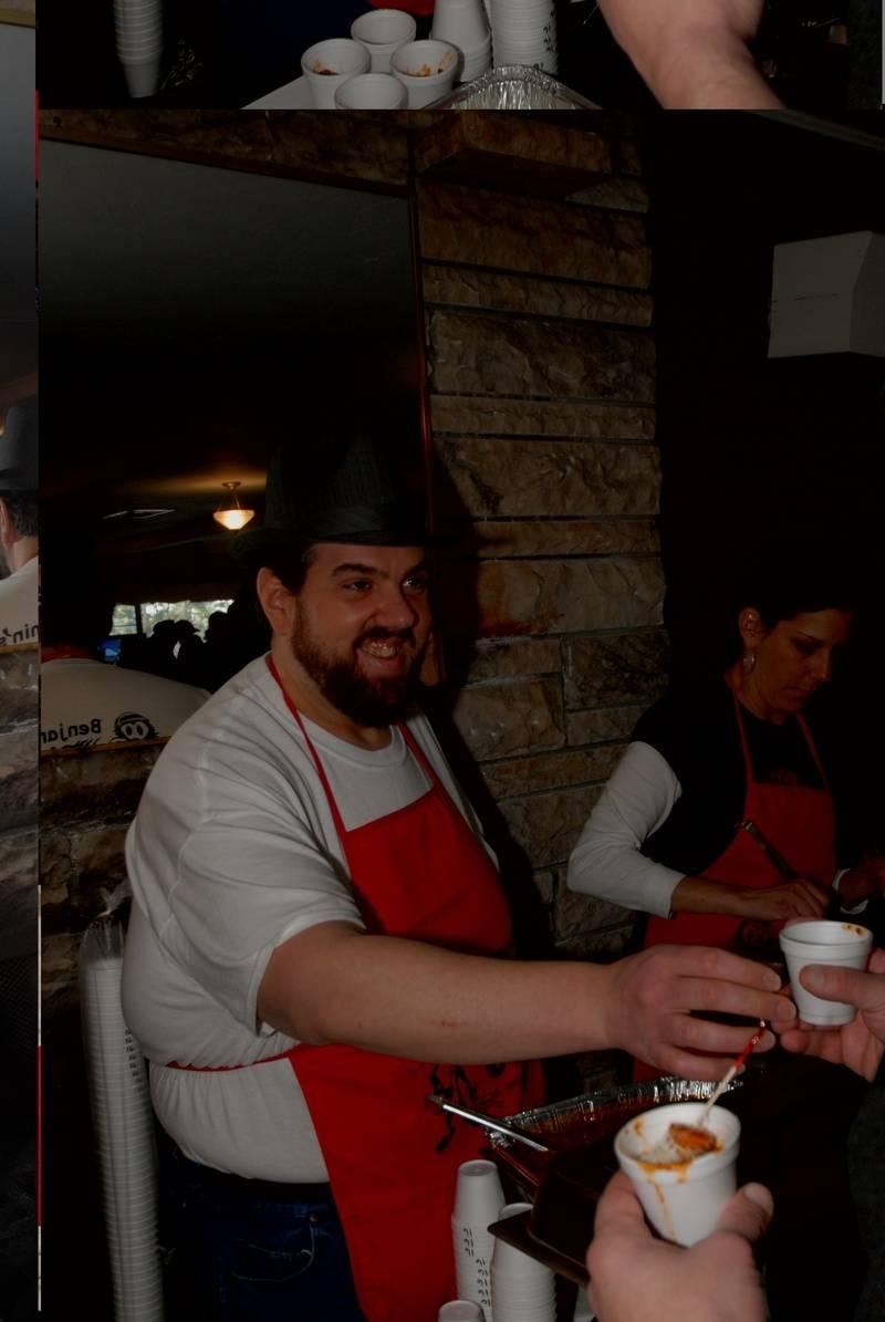 Joe served chili for Emma's restaurant