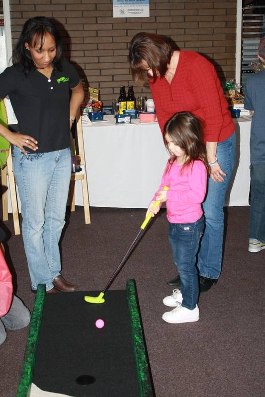 Monster Mini Golf of Seekonk gave away some prizes to kids!