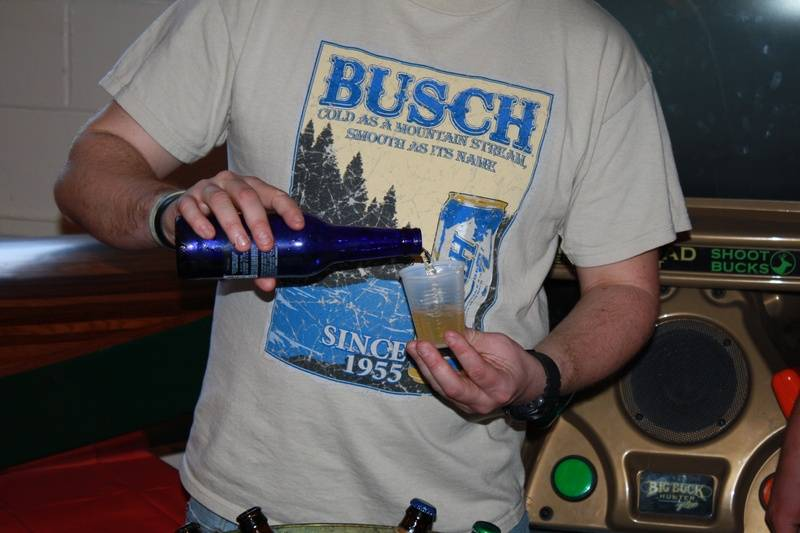 alcohol sampling provided by Quality Beverage